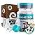 Kit Wheydop 3W Whey Protein 900g + Barra Proteica Wheydop Elemento Puro Chocolate Maltado 480g + Bônus - Imagem 1