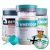 Kit Wheydop 3W Whey Protein + Aminodop Bcaa Maçã Verde + Betadop Pré Treino Elemento Puro Tangerina + Bônus  - Imagem 1