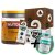 Kit Nutdop Pasta de Amendoim 500g + Barra Proteica Wheydop Elemento Puro Chocolate Maltado 480g + Bônus - Imagem 1