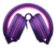 Fone Pulse Over Ear Wired Stereo Áudio Roxo e Rosa - PH161 - Imagem 4