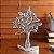 Enfeite de Metal Árvore Liat Prateada - Etna - Imagem 1
