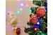 Kit Bola de Natal Xadrez Hang Vermelha com 8 Peças - Etna - Imagem 2