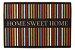TAPETE CLEANKASA HOME SWEET HOME LISTRAS 40X60CM - Imagem 1