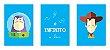 Jogo com 3 Quadros Ao Infinito e Além | Toy Story - Imagem 9