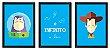 Jogo com 3 Quadros Ao Infinito e Além | Toy Story - Imagem 2