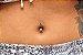 Piercing para umbigo - Estrela - Ouro amarelo 18K - Imagem 3