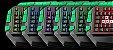 Teclado Gamer Warrior Semi Mecânico TC199 - Imagem 3