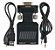 Vga Para Hdmi 1080p Av Conversor Hdtv Audio Video Cabo Adapt - Imagem 2