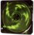 Cooler Fan 4 Leds, 12 V, 0.21 A, 42 CFM, 1000 RPM, Preto/Verde OEX F10 - Imagem 2