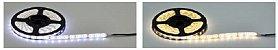 Fita LED 5050 IP65 branco frio / branco quente - Rolo com 5 metros - Imagem 3