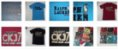 Camisetas Recorte Laser Gola Redonda - 5 Peças - Imagem 6