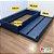 Cama auxiliar mobili kids (cama auxiliar com estrutura para cama auxiliar) - Cor azul  - Imagem 5