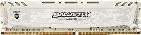 Crucial Ballistix Sport LT White 8GB 288-Pin DDR4 32000MHz (PC4 25600) (BLS8G4D32AESCK) - Imagem 1