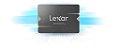 "SSD Lexar NS100 256GB SATA 3.0 (6 Gbit/s) 2.5"" Leitura 520MB/s (LNS100-256RBNA) - Imagem 1"