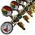 Regulador de Pressão para CO2- 5 vias  - Imagem 3