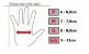 Luva High One Apolo de Ciclismo Unissex MTB Speed Lazer Dedo Curto Preto Vermelho - Imagem 4