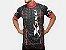 Camisa Refactor 3XU Multiplied de Ciclismo Masculina Manga Curta Preto Vermelho - Imagem 2