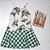 Vestido Cholet de Linho Mix Estampas Babado - Imagem 4