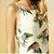 Vestido Cholet de Linho Mix Estampas Babado - Imagem 3