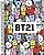 Caderno Bts Mascote Espiral Bt21 Kit 4 Cadernos 1 Matéria  - Jandaia   - Imagem 3