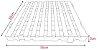 Estrados / Palete / Pallets Em Plástico 50 X 50 X 5 cm - Imagem 3