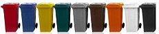 Carrinho Coletor de Lixo 120 Litros sem pedal - Cód. L28 - Imagem 2