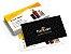 Cartão de Visita Couchê 300g Lam Fosca + UV Local 9x5 - 4x4 - 1000 UNID - Imagem 2