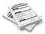 Receituários / Recibos / Blocos / Comandas Sulfite 75g - Preto e Branco - Sem Verniz 10x15 - 1x0  - Imagem 1