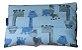 Bolsa aromática para cólica girafas azuis - Imagem 1
