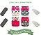 Kit Degustação  Rosa - 4 fraldas e 4 absorventes - Imagem 1