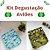 Kit Degustação Aviões - Leli Eco- 2 fraldas e 4 absorventes - Imagem 1