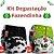 Kit Degustação Fazendinha - Little e Bloomz- 2 fraldas e 2 absorventes - Imagem 1
