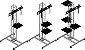 Bandeja de apoio torre treliçada -boxtruss q15 - Imagem 4
