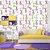 Papel de Parede Infantil Gatinhos Coloridos Texturizado Autocolante - Imagem 1