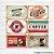 Kit de Quadros Decorativo Vintage Café - Imagem 1
