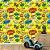 Papel de Parede Infantil Quadrinhos Super Herois Texturizado Autocolante - Imagem 1