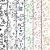 Papel de Parede Texturizado Autocolante Infantil Primeiros Desenhos - Imagem 7
