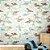 Papel de Parede Infantil Dinossauros Texturizado Autocolante - Imagem 1