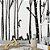 Painel de Parede Para Quarto Infantil Esquilos nas Arvores - Imagem 1