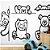 Painel de Parede Para Quarto Infantil Ursinhos - Imagem 1