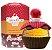 Perfume Cupcake Me Caramelo Divertido Lacqua di Fiori Feminino 100ML - Imagem 1