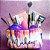 Kit de maquiagem com necessaire 9 peças - Imagem 1