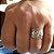 Anel em Prata Bali 925  masculino - Imagem 3