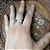 Anel em Prata Bali 925 giratório - Imagem 4