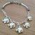 Pulseira em Prata Bali 925 elefantes - Imagem 3