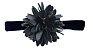 Faixinha com Flor - Azul Marinho - Imagem 1