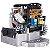 Kit Portão Eletrônico Deslizante Garen Kdz Fit 1/4Hp 3m Cremalheira + Campainha Sem Fio Intelbras - Imagem 3