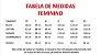JALECO BRANCO GOLA PADRE E PUNHO - Tecido GABARDINE - Feminino de manga longa - Lojão da Saúde - Imagem 4