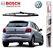 Palheta Traseira Original Bosch Vw Gol G5 G6 2008 A 2018 - Imagem 1