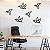 Pássaros Geométricos - 6 unidades - Imagem 1